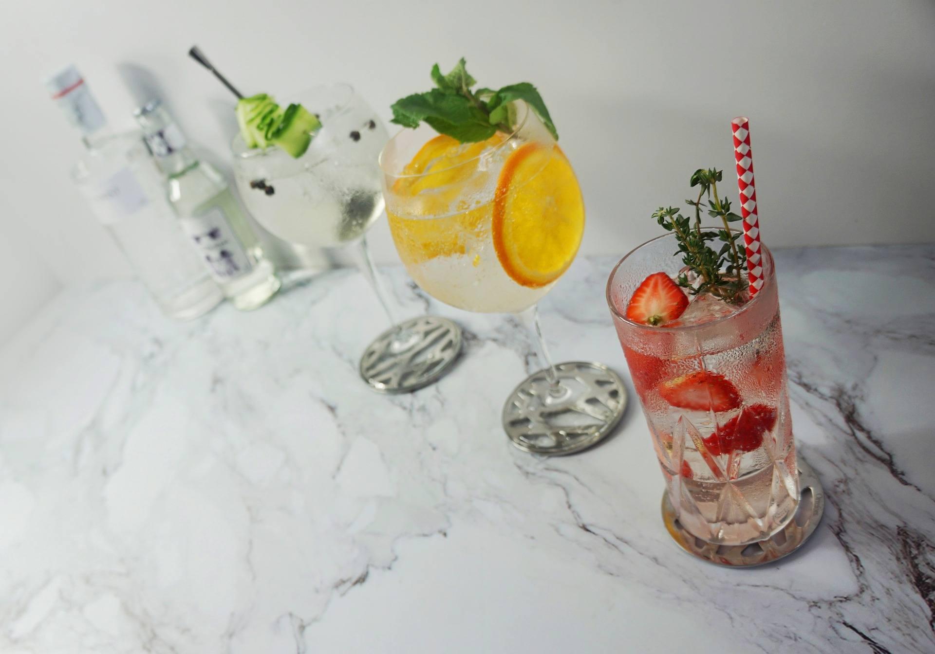 коктейли с джин
